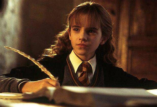 <b>Hermiona Granger - Emma Watson</b>.