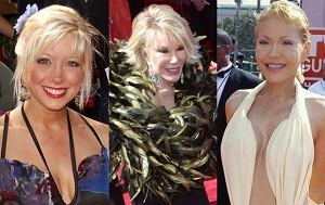 Courtney Peldon, Tess Smith, Joan Rivers