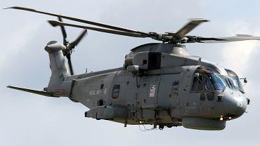 Brytyjski śmigłowiec AW101 w wersji ZOP