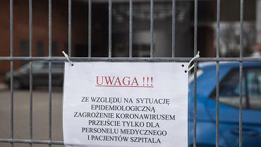 Poznań, Oddział Zakaźny Szpitala Miejskiego imienia Józefa Strusia