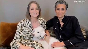 Złote Globy 2021 - Jodie Foster z żoną