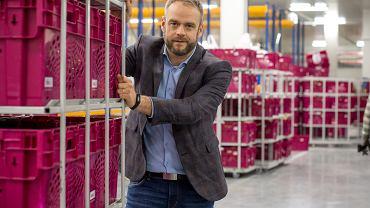 Jacek Palec, prezes zarządu Frisco.pl