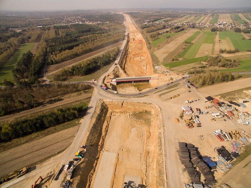 Budowa obwodnicy Częstochowy A1