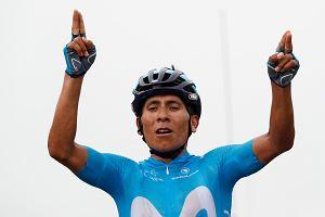 Tour de France. Dach Pirenejów zdobyty przez Nairo Quintanę! Rafał Majka mimo wspaniałej walki nie powtórzył zwycięstwa w Saint-Lary-Soulan
