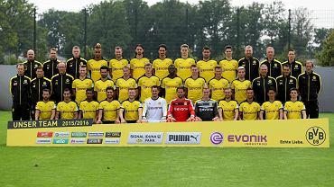 Przedsezonowe zdjęcie Borussii Dortmund