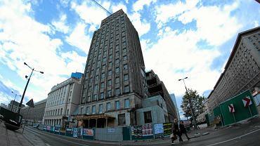 Niedokończona budowa budynku Prudential.