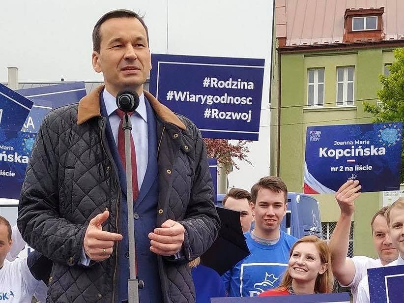 Mateusz Morawiecki w Ozorkowie