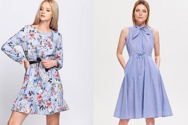 Błękitna sukienka, fot. mat. partnera