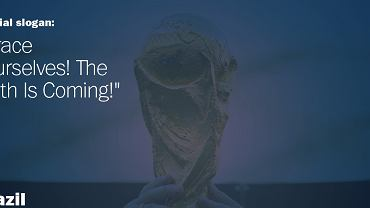 FIFA opublikowała listę sloganów, którymi opatrzone zostaną autobusy wszystkich finalistów MŚ w Brazylii. Tak, tak - FIFA. Bo to ona właśnie nadaje je poszczególnym reprezentacjom (pamiętacie 'Bo liczy się sport i dobra zabawa'? - wtedy wybierali kibice w głosowaniu internetowym na stronach UEFA...).<br><br> Nie obyło się bez kontrowersji - belgijska federacja uznała, że wszystkie pięć propozycji, przedstawionych jej przez FIFA, są 'głupie'. Ale FIFA w końcu się zdenerwowała i wymusiła przyjęcie jednego z nich. Australijscy kibice piszą w sieci, że od swojego beznadziejnego hasła woleliby 'zaparkujemy ten autobus w bramce'. Nie da się ukryć, że większość sloganów jest po prostu nudna lub śmiesznie stereotypowa...<br><br> Wiele zdaje się ironizować, sporo też jakby nawiązuje do 'Gry o tron' (smoki itp.), z czego żartuje się w Internecie... Ale niektóre - np. portugalski - są naprawdę przyzwoite. Zresztą, oceńcie sami: oto one, w kolejności 'grupowej' - zaczynamy od pierwszego zespołu z Grupy A.<br><br> <b>Brazylia</b>: Trzymajcie się! Nadchodzi szóste! [w domyśle: mistrzostwo świata]
