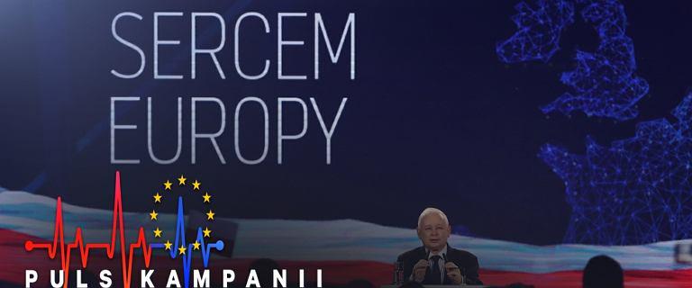 Wybory do PE. PiS wygrywa w sonda�u, ale przewaga nad KE nie jest du�a