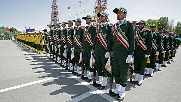 Strażnicy Rewolucji w Iranie.