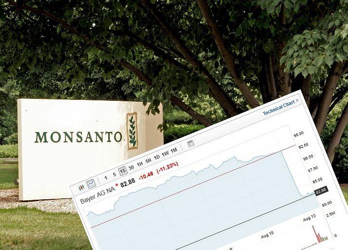 Bayer traci na giełdzie przez wyrok ws. Monsanto