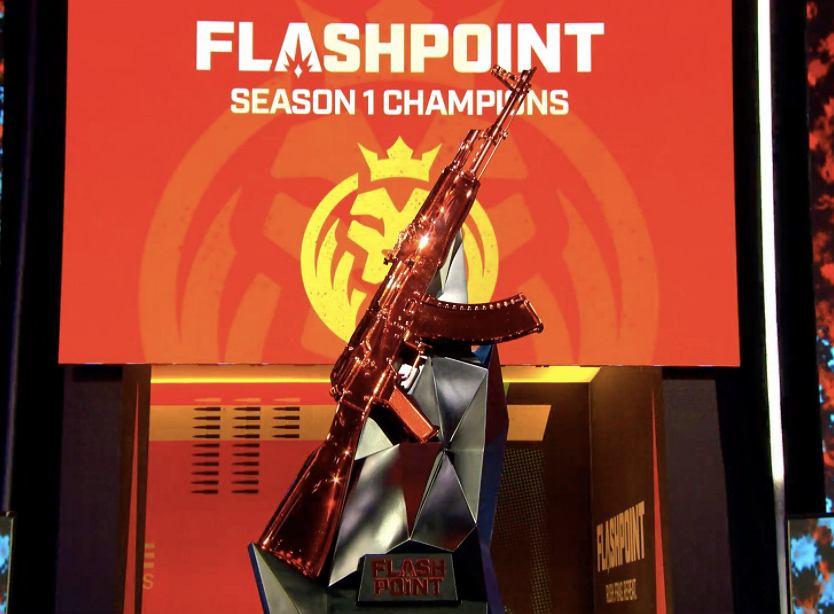 Screenshot pucharu Flashpointa Season 1 w CS:GO. Źródło: Twitter