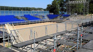 Budowa stadionu na Grand Slam Olsztyn