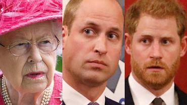 Królowa Elżbieta II rozdzieliła Williama i Harry'ego. Bracia nie staną obok siebie podczas pogrzebu księcia Filipa