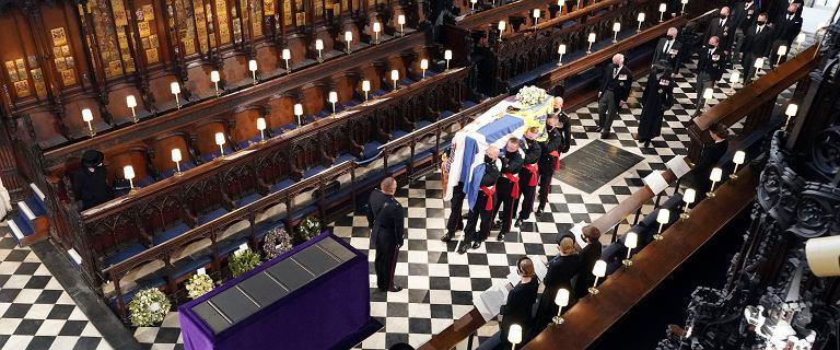 Wielka Brytania. Pogrzeb księcia Filipa. O 16 minuta ciszy w całym kraju