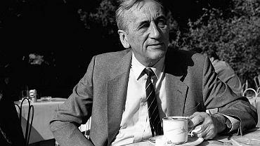 Tadeusz Mazowiecki w 1990r.