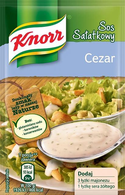 Sałatka Cezar Knorr