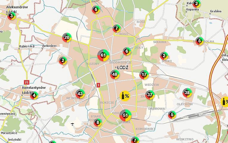 Interaktywna Mapa Przestepczosci Zobacz Gdzie Jest Niebezpiecznie