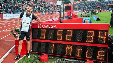 Marcin Lewandowski wygrał bieg na milę podczas Diamentowej Ligi w Oslo