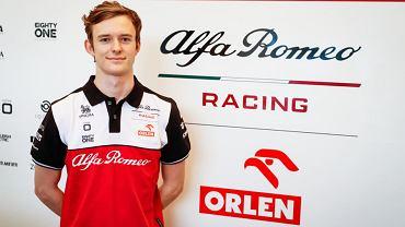 Robert Kubica ma rywala. 22-latek nowym rezerwowym kierowcą Alfy Romeo