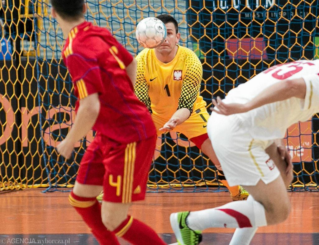 Polska - Rumunia w meczu futsalowych reprezentacji
