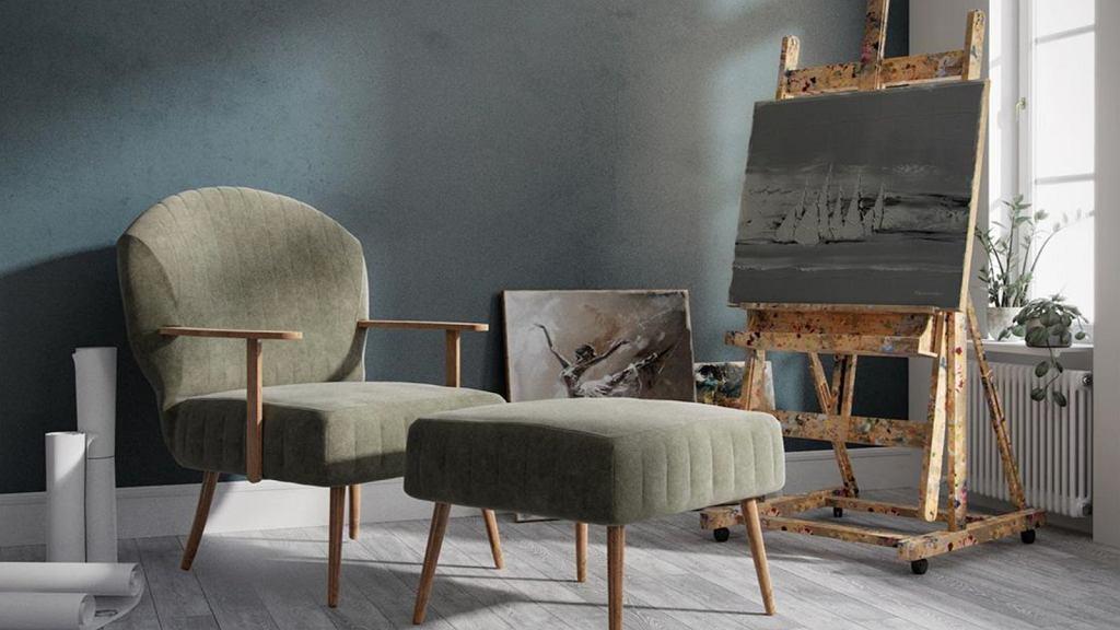 Vallmor - fotel, który przypomina kultowy projekt 366 Józefa Chierowskiego.