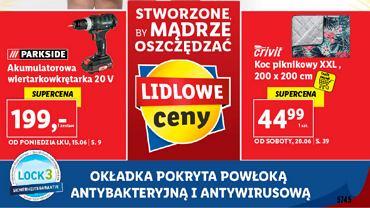 Nowe gazetki Lidla pokryte lakierem LOCK3