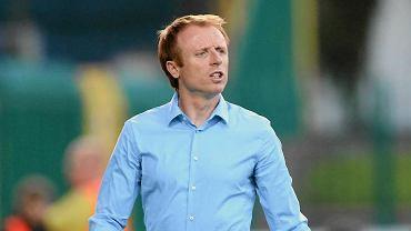 Trener Polonii Warszawa Piotr Stokowiec