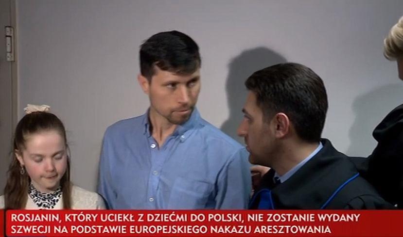 Polska nie wyda Szwecji Denisa Lisova