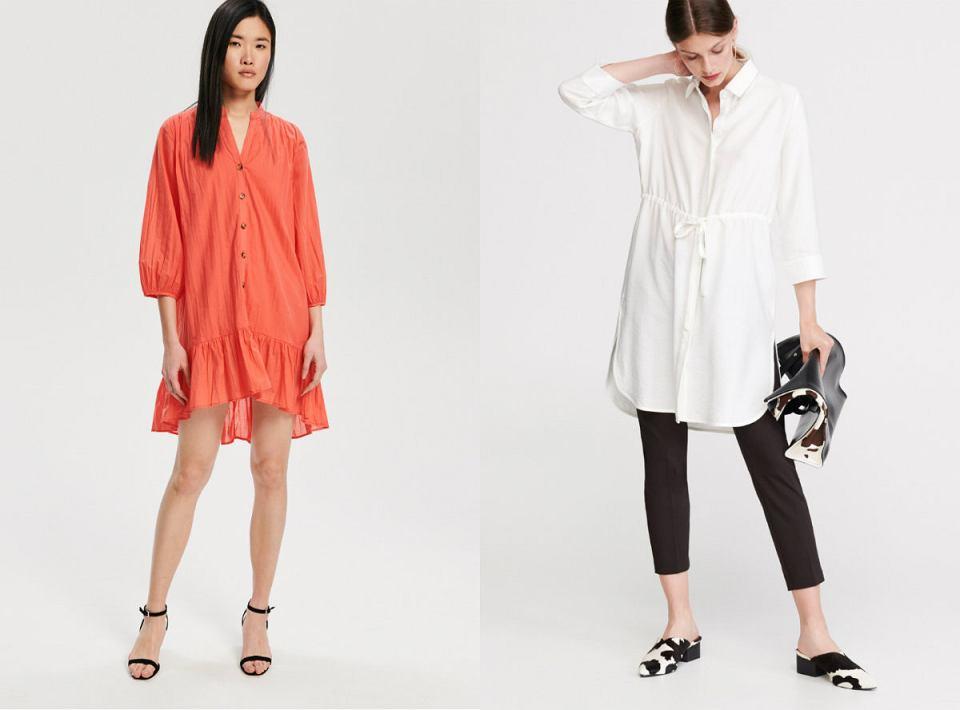 Tunikę możesz nosić również w wersji eleganckiej np. ze szpilkami