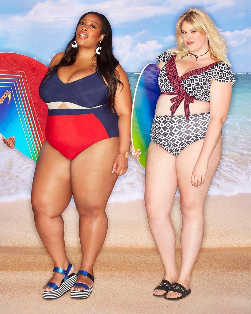 Pięć blogerek plus size wystąpiła w reklamie debiutanckiej linii kostiumów kąpielowych marki Eloquii. Oto zdjęcia z kampanii