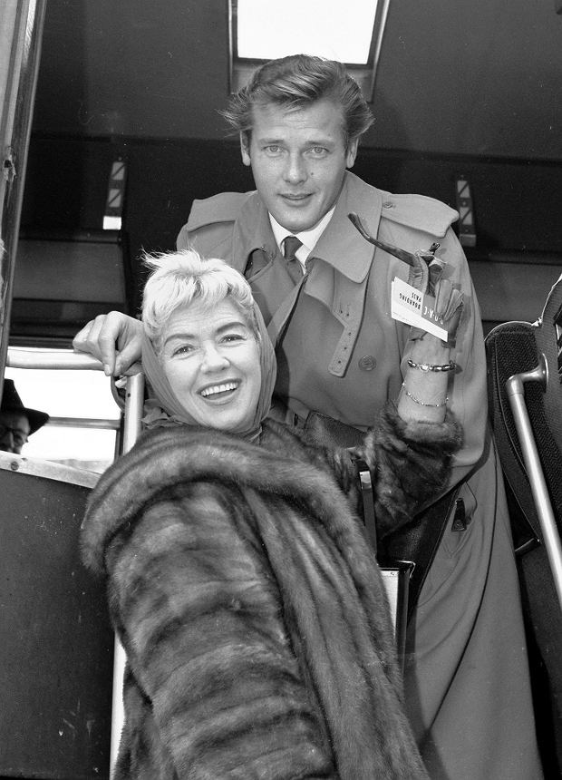 Roger Moore i Dorothy Squires