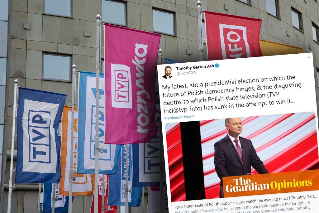 'The Guardian' krytykuje 'Wiadomości' TVP