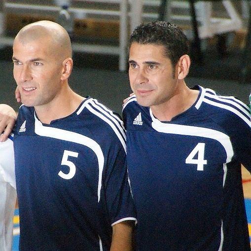 Fernando Hierro (z prawej)
