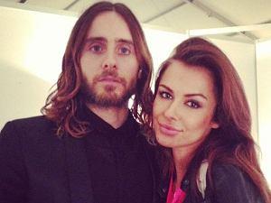 Natalia Siwiec i Jared Leto.