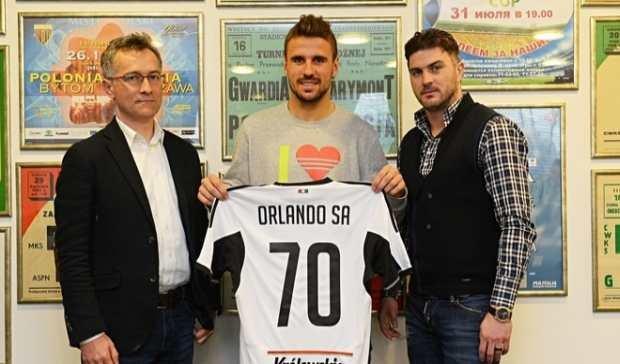Orlando Sa podpisał z Legią kontrakt na 3,5 roku