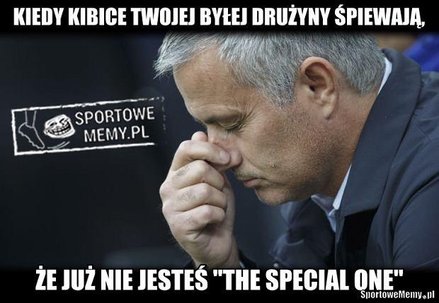 Zdjęcie numer 18 w galerii - Co powiedział Mourinho Conte po końcowym gwizdku? Portugalczyk wyśmiewany [MEMY]