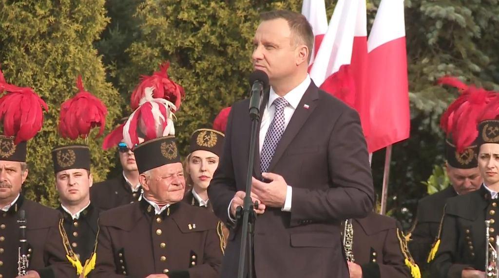 Andrzej Duda w Gliwicach