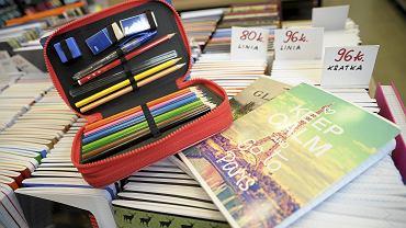 Szkolna wyprawka to ważna rzecz dla każdego ucznia. (Fot. Olaf Nowicki / Agencja Gazeta)