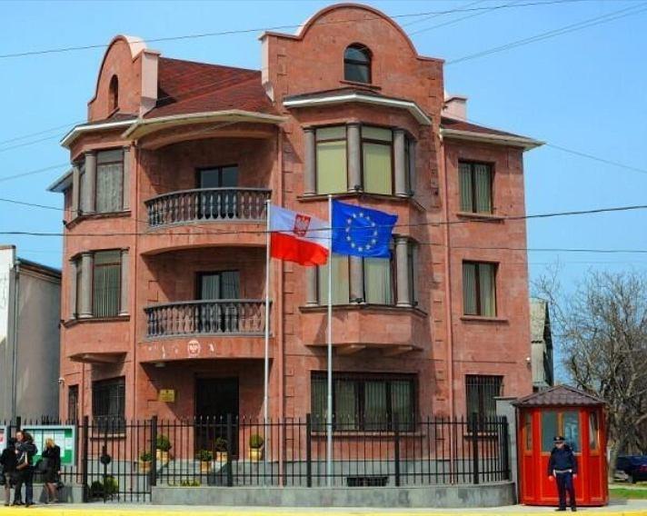 Budynek polskiego konsulatu w Sewastopolu