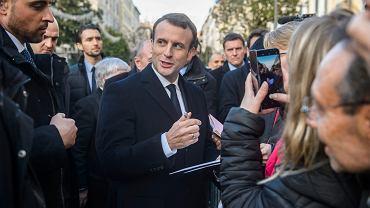 Emmanuel Macron na Korsyce