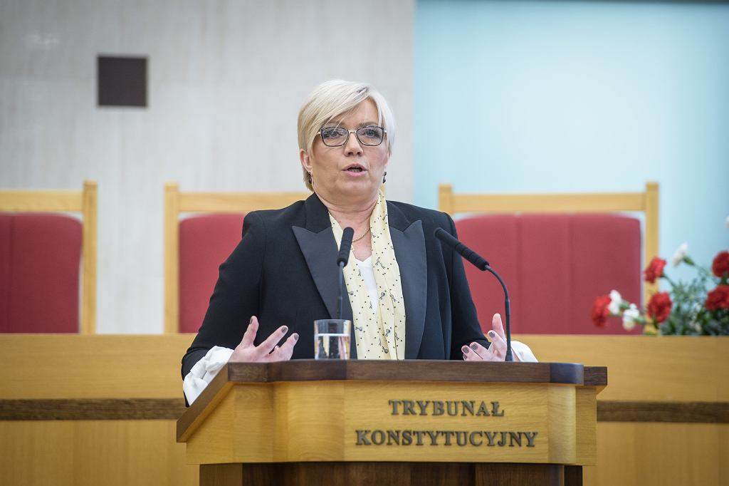 Julia Przyłębska prezes Trybunału Konstytucyjnego