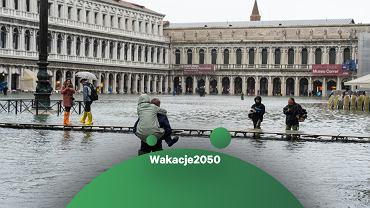 Acqua alta w Wenecji