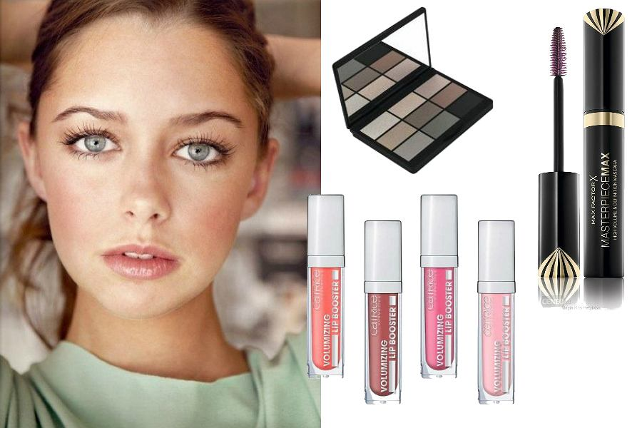 Make up no make up - usta i oczy
