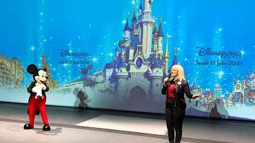 Francja. Ponowne otwarcie Disneylandu w Paryżu po siedmiu miesiącach zamknięcia z powodu koronawirusa