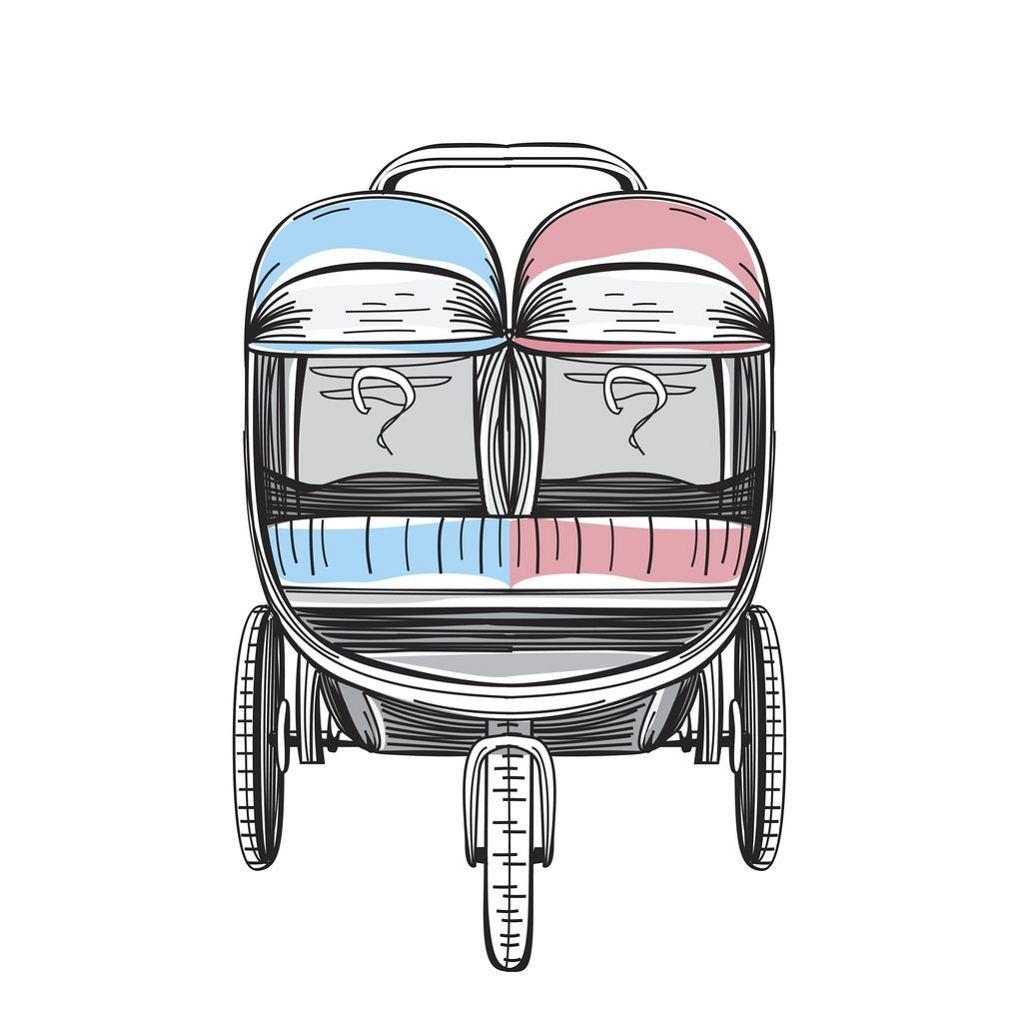 Wózek rok po roku to coś, na co często decydują się rodzice, których dzieci dzieli mała różnica wieku.