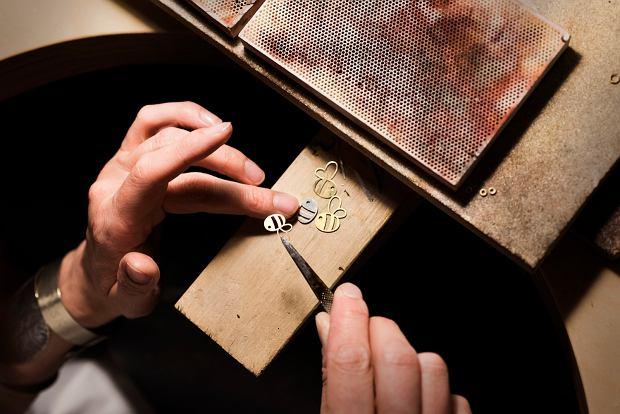 Złota Pszczoła wykonana przez Annę Orską