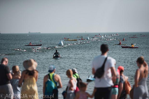 Zdjęcie numer 20 w galerii - Brytyjczyk James Teagle i Holenderka Sarissa De Vries najlepsi w triathlonowym Lotto Challenge Gdańsk 2021 [ZDJĘCIA]
