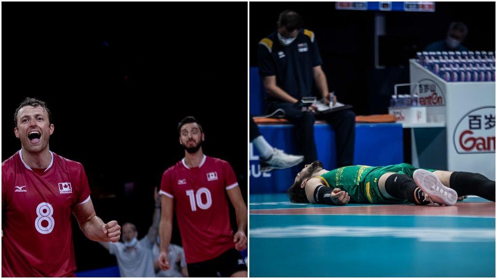 Liga Narodów: Kanada - Australia, siatkówka